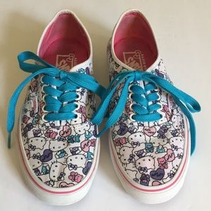 Womens VANS Hello Kitty Sneakers